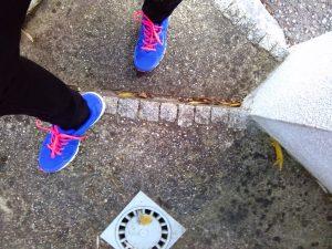 Foto von Schuhen auf Stiege