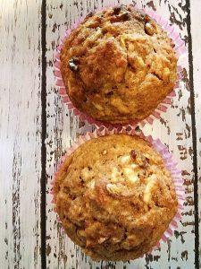 Foto von zwei Muffins