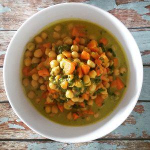 Kichererbsen-Gemüse