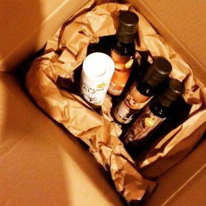 Foto Kiste mit Ölen