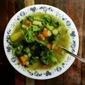Foto Gemüsesuppe