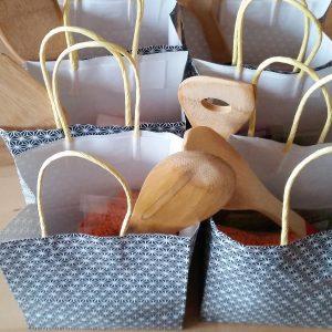 Goodie-Bags für den Kochkurs