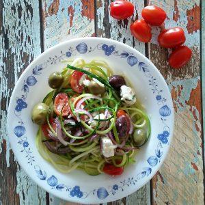 Foto Zucchini-Salat