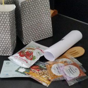 Goodie-Bag für den Kochkurs