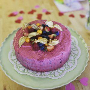 Foto Torte ohne Zucker