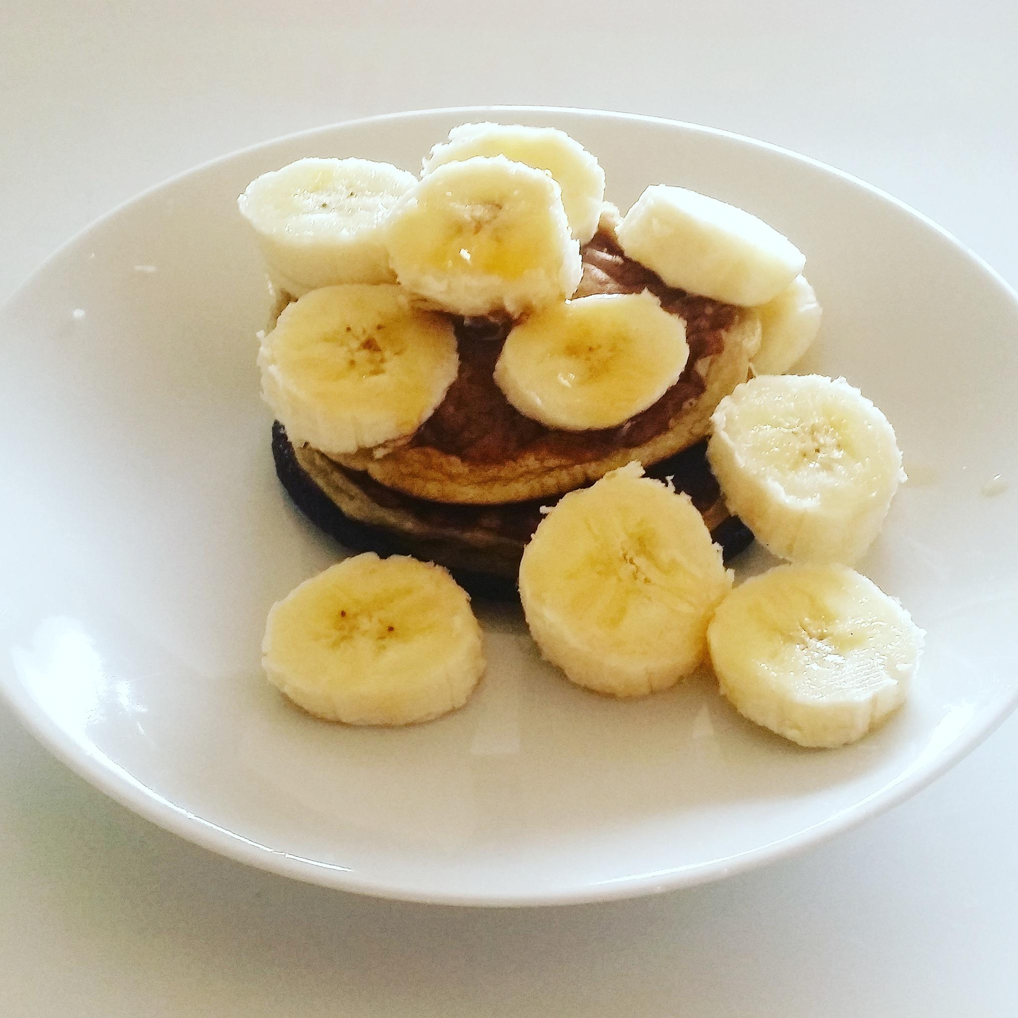 Foto Bananenpancakes