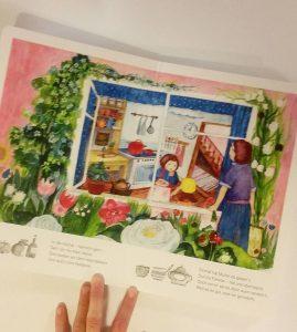 Foto von einem Bilderbuch
