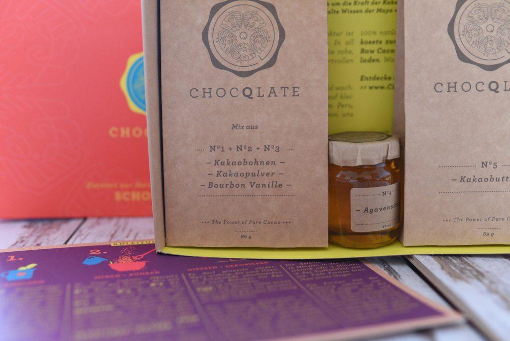 Schokolatenset für Schokolade ohne Zucker