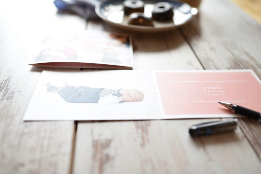 Donuts und Geburtskarten