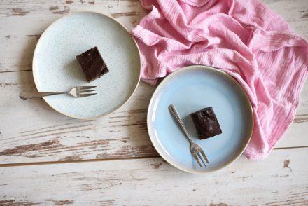 Gesunde Rohkost Brownies