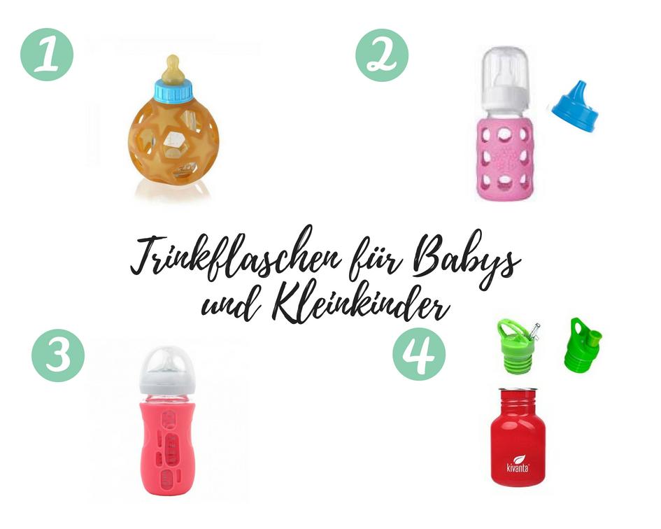 Trinkflaschen für Babys und Kleinkinder
