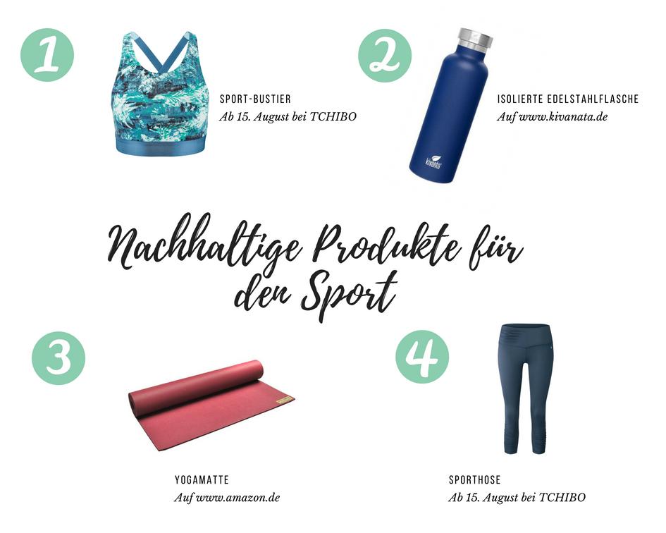 Nachhaltige Produkte für den Sport