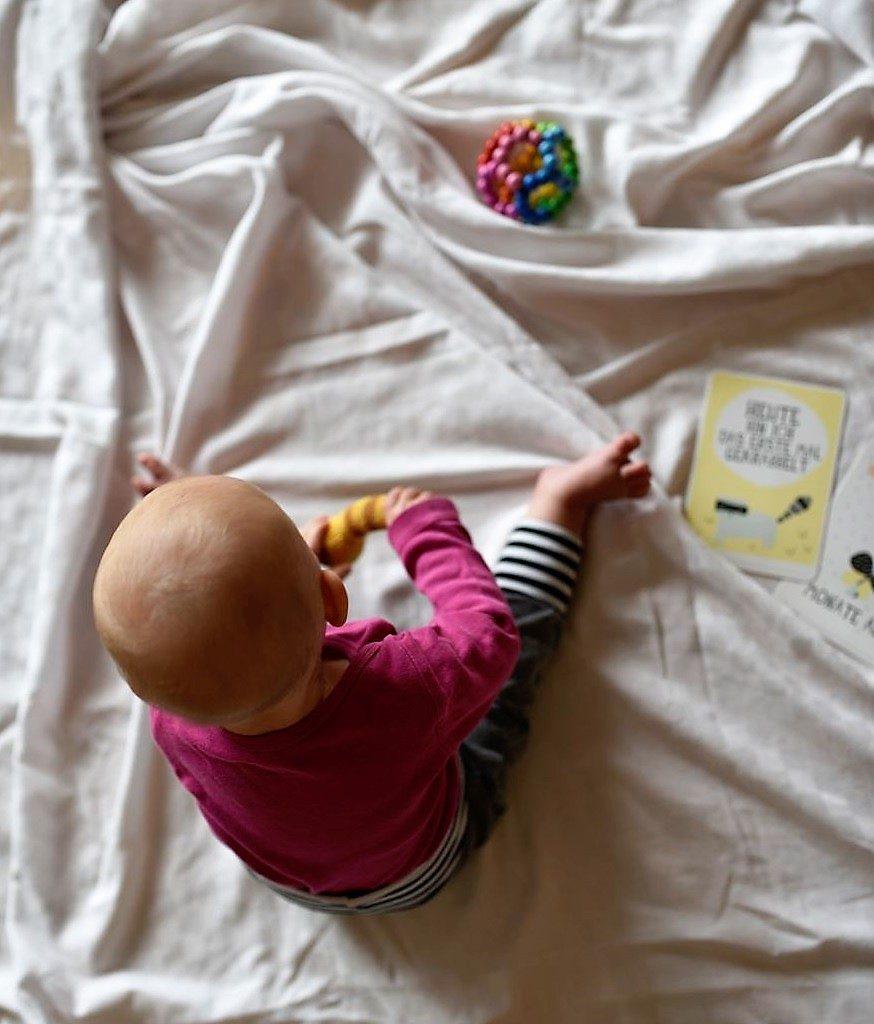Emma Babymädchen 7 Monate