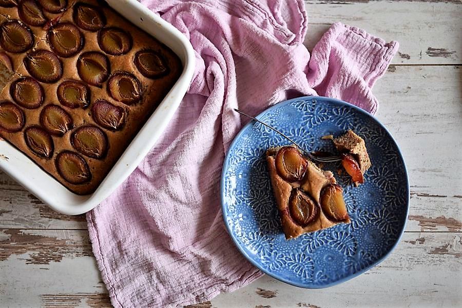 Zwetschkenkuchen ohne Zucker