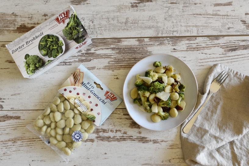 Schnelle Küche: Gnocchi mit Brokkoli
