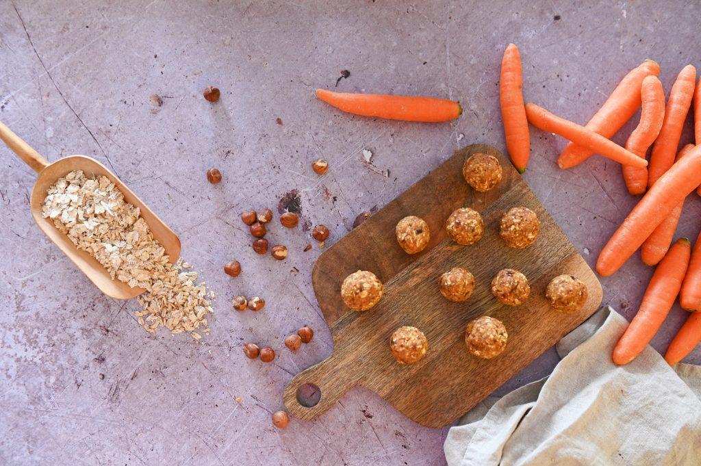 Carrot Cake Balls oder auch Karottenkugeln