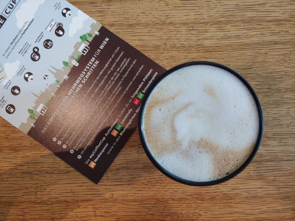 Kaffee im Mehrwegbecher