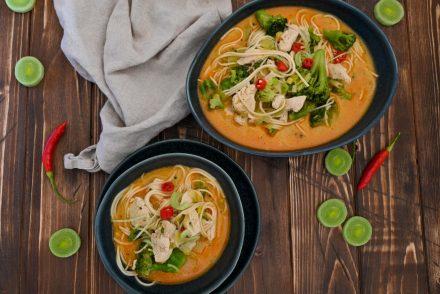 Wärmende Currysuppe