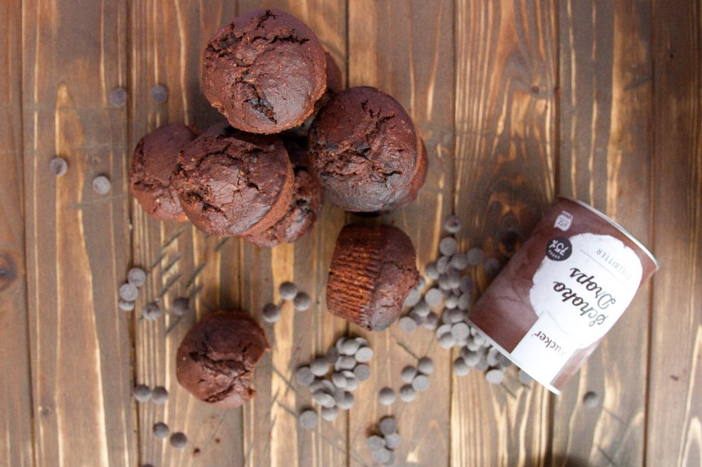 Double Chocolate Zucchini-Muffins