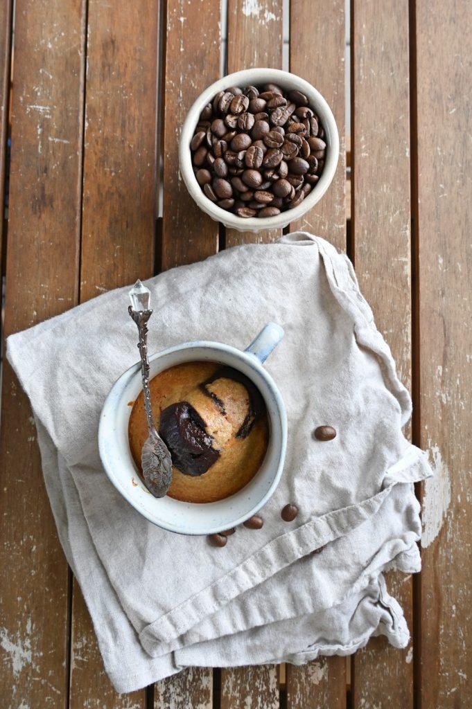 Foto von Tassenkuchen